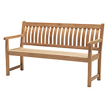 Buy KETTLER RHS Wisley 5ft Garden Bench, FSC-certified (Teak) Online at johnlewis.com