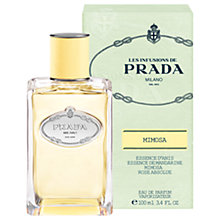 Buy Prada Les Infusions Mimosa Eau de Parfum, 100ml Online at johnlewis.com