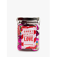 Buy Piccadilly Sweet Parade 'Love Heart' Sweet Jar, 180g Online at johnlewis.com