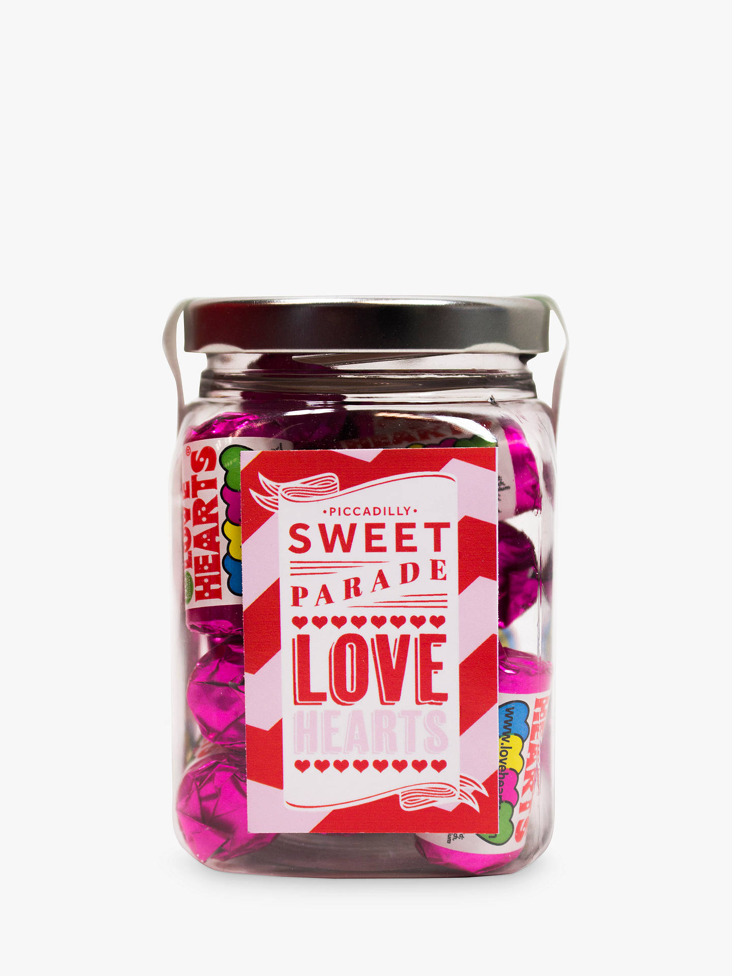 BuyPiccadilly Sweet Parade 'Love Heart' Sweet Jar, 180g Online at johnlewis.com