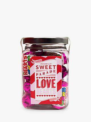 Piccadilly Sweet Parade 'Love Heart' Sweet Jar, 180g