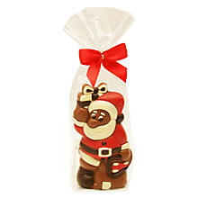 Buy Milk Chocolate Santa Figure, 75g Online at johnlewis.com