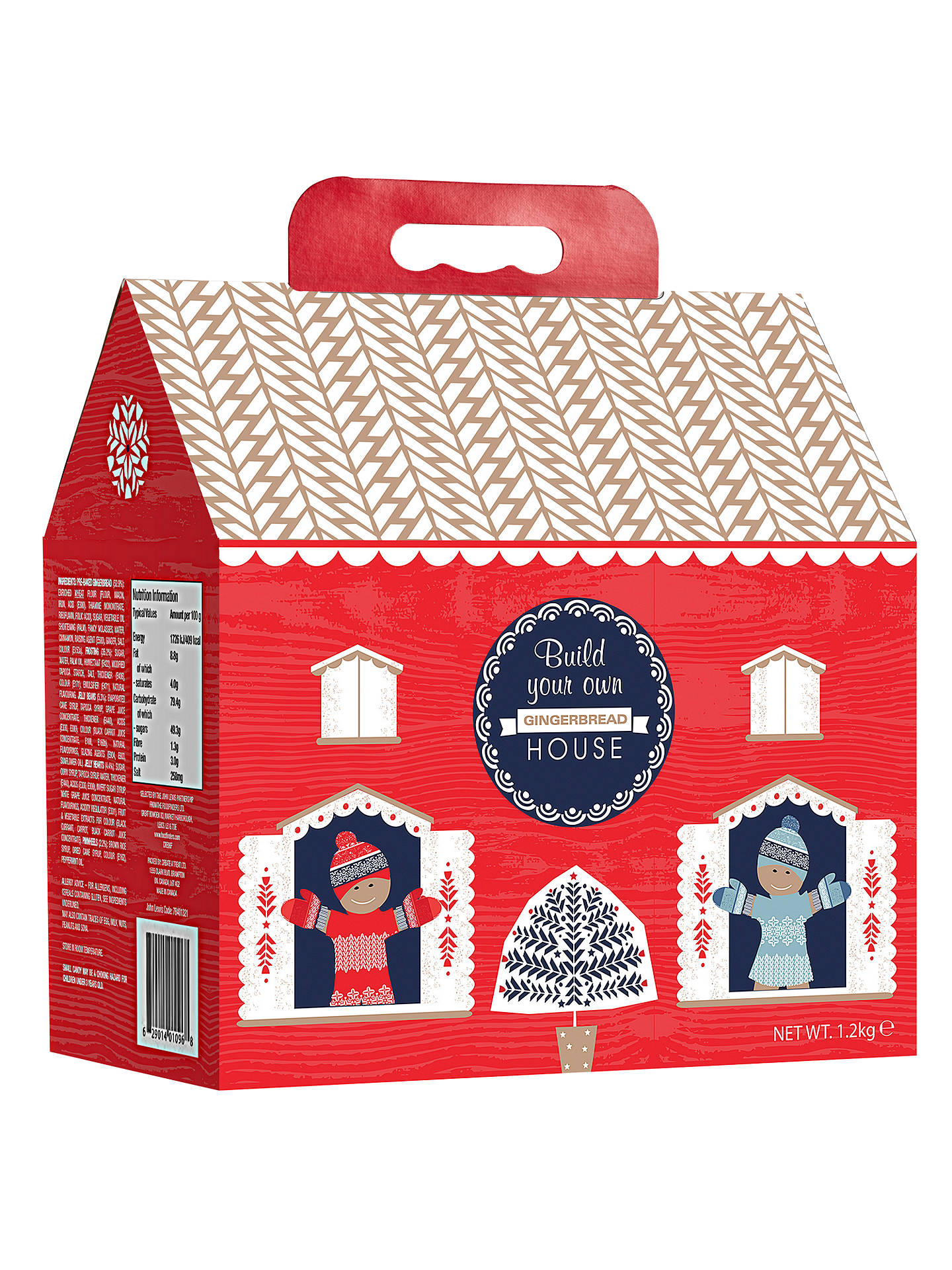 BuyBuild Your Own Gingerbread House, 1.2kg Online at johnlewis.com