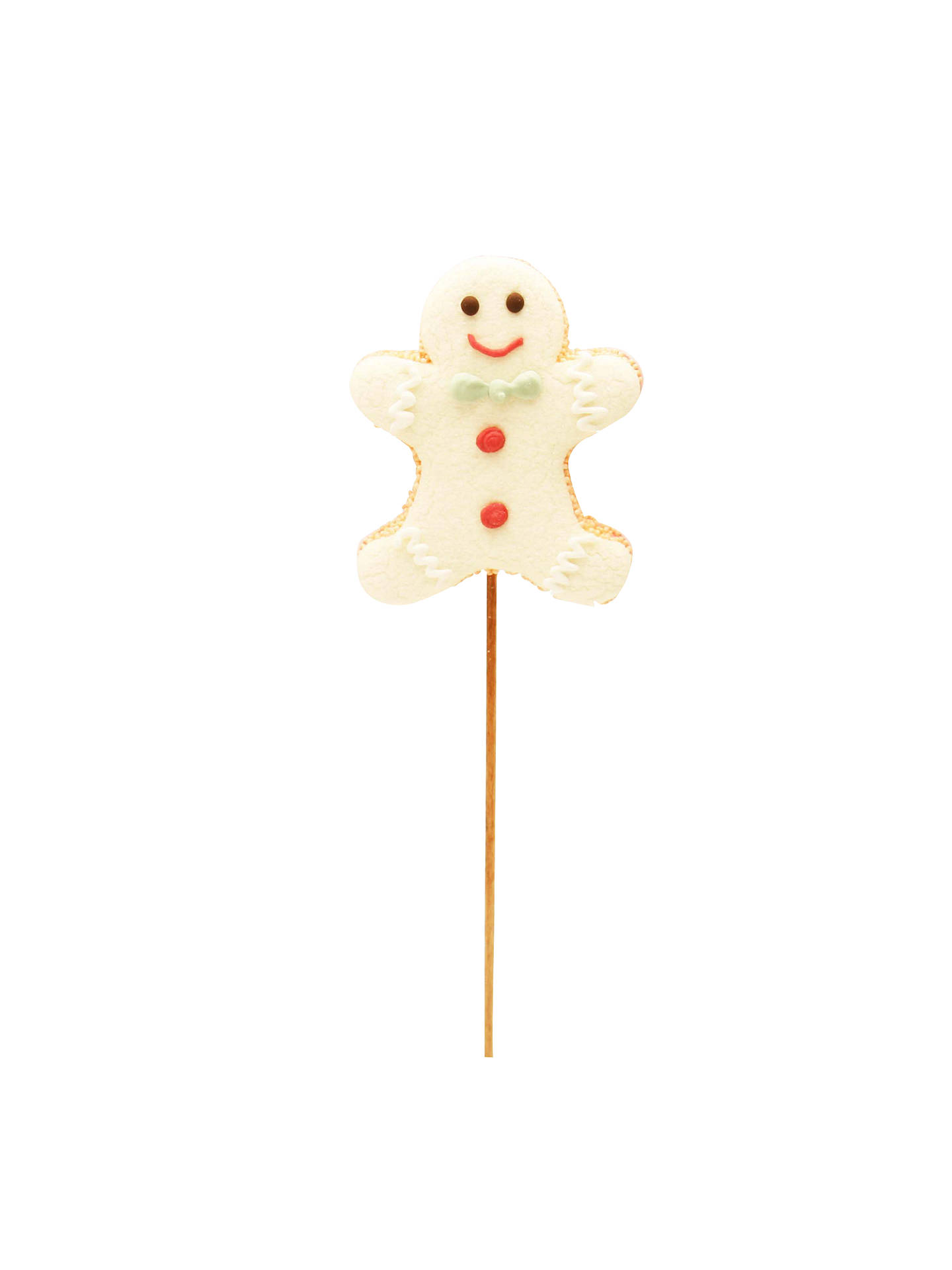 Natalie Gingerbread Man Mallow Lolly 25g At John Lewis Partners
