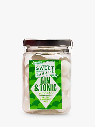 Piccadilly Sweet Parade Gin & Tonic Boiled Sweets, 200g