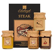 Buy Edinburgh Preserves Steak Sauces Set, 385g Online at johnlewis.com