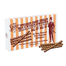 Buy Mr. Stanleys 'Walking Sticks' Orange Milk Chocolate, 125g Online at johnlewis.com