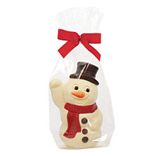 Buy Natalie White Chocolate Snowman Online at johnlewis.com