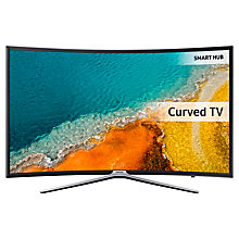 "Buy Samsung UE49K6300 Curved LED HD 1080p Smart TV, 49"" with Freeview HD, Built-In Wi-Fi & SmartThings Compatibility Online at johnlewis.com"