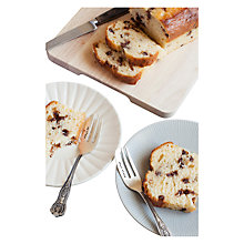 Buy Cutlery Commission Silver-Plated Personalised Cake Fork Online at johnlewis.com