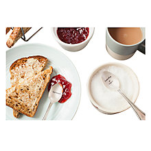 Buy Cutlery Commission Silver-Plated Personalised Tea Spoon Sets Online at johnlewis.com