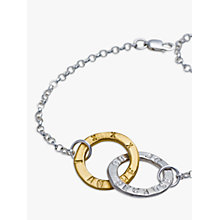 Buy Chambers & Beau Personalised Linked Halo Bracelet Online at johnlewis.com