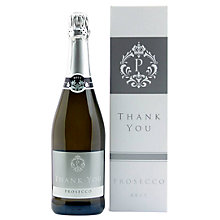 Buy Intervino 'Thank You' Prosecco, 75cl Online at johnlewis.com
