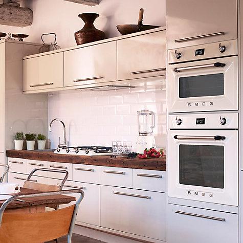 Buy Smeg Sfp6925ppze1 Built In Single Electric Oven Cream