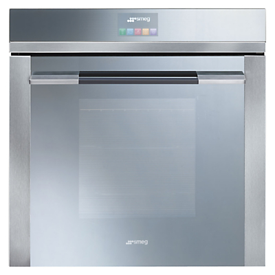 Image of Smeg SFP140E Built-In Single Electric Oven, Stainless Steel