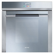 Buy Smeg SFP140E Built-In Single Electric Oven, Stainless Steel Online at johnlewis.com