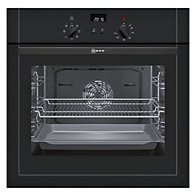 Buy Neff B14M42S5GB Built-In Single Oven, Black Online at johnlewis.com