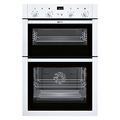 Image of Neff U14M42W5GB Built-In Double Oven, White