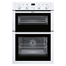 Buy Neff U14M42W5GB Built-In Double Oven, White Online at johnlewis.com