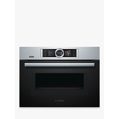 Image of Bosch CMG656BS6B Built-In Single Oven with Home Connect, Brushed Steel