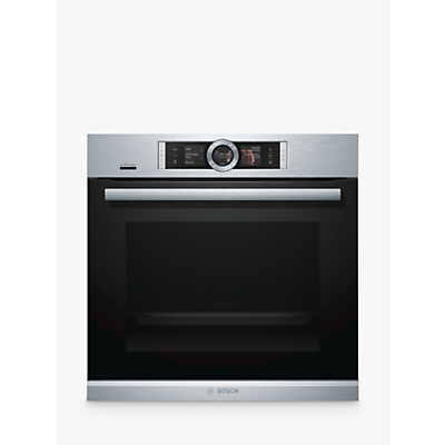 Image of Bosch HRG6769S6B Built-In Single Oven with Home Connect, Brushed Steel