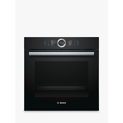 Image of Bosch HBG6764B6B Built-In Single Oven with Home Connect, Black