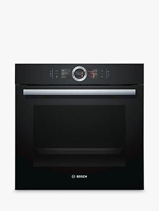 Bosch HBG6764B6B Built-In Single Oven with Home Connect, Black