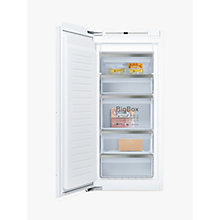 Buy Neff GI7413E30G Integrated Freezer, A++ Energy Rating, 55cm Wide Online at johnlewis.com