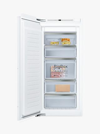 Neff GI7413E30G Integrated Freezer, A++ Energy Rating, 55cm Wide