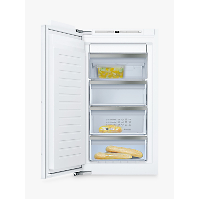 Neff GI7313E30G Integrated Upright Freezer, A++ Energy Rating, 55.8cm Wide, White