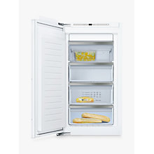 Buy Neff GI7313E30G Integrated Upright Freezer, A++ Energy Rating, 55.8cm Wide, White Online at johnlewis.com