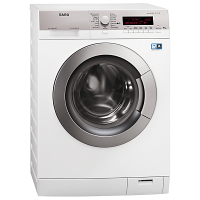 AEG L87405FL Freestanding Washing Machine, 10kg Load, A+++ Energy Rating, 1400rpm Spin, White