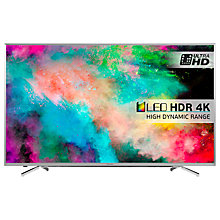"Buy Hisense 55M7000 4K ULED HDR 4K Ultra HD Smart TV, 55"" With Freeview HD & Ultra Slim Design Online at johnlewis.com"