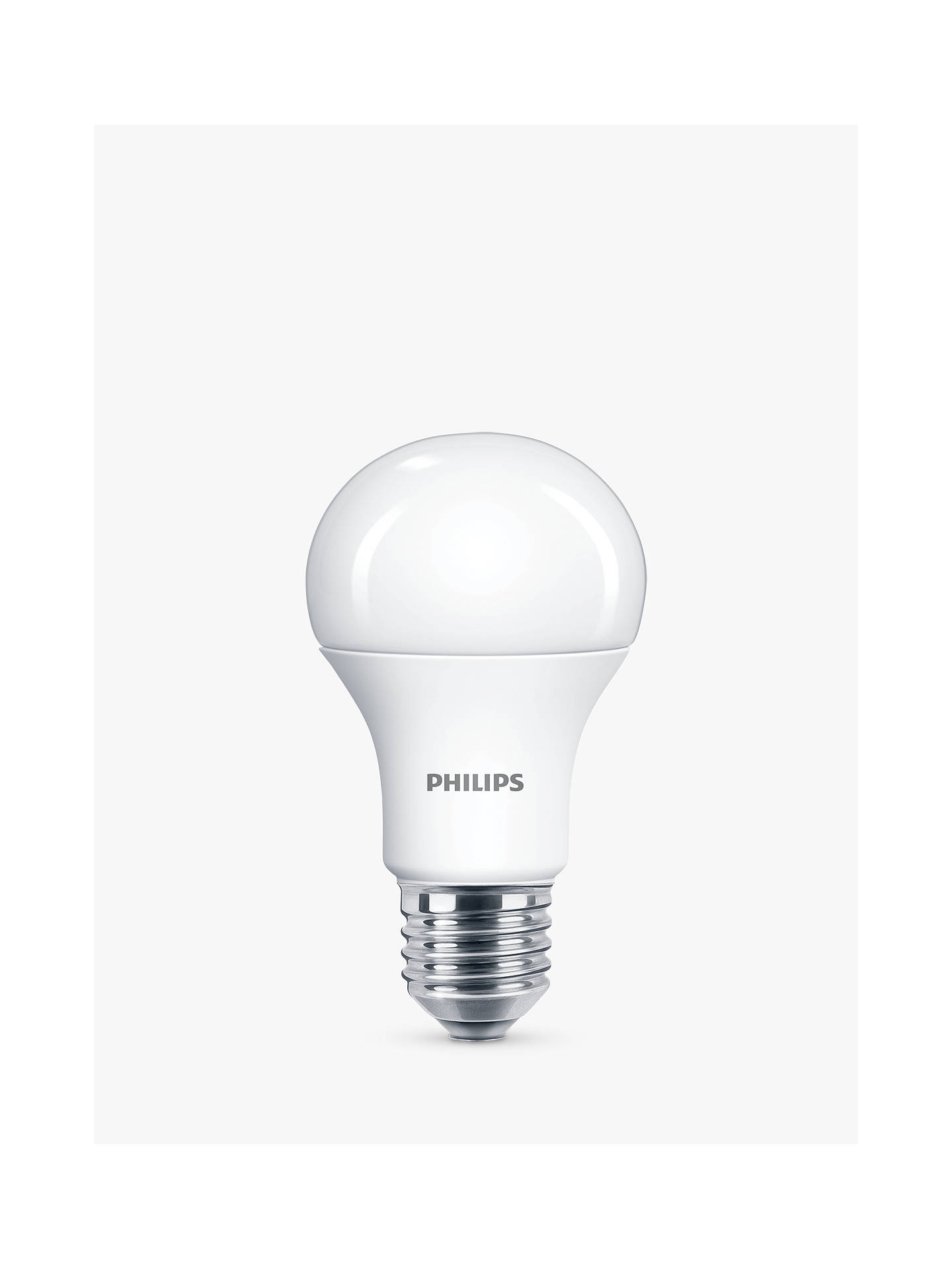 Buy Philips 10W ES LED Daylight Bulb, Frosted, 6500K Online at johnlewis.com