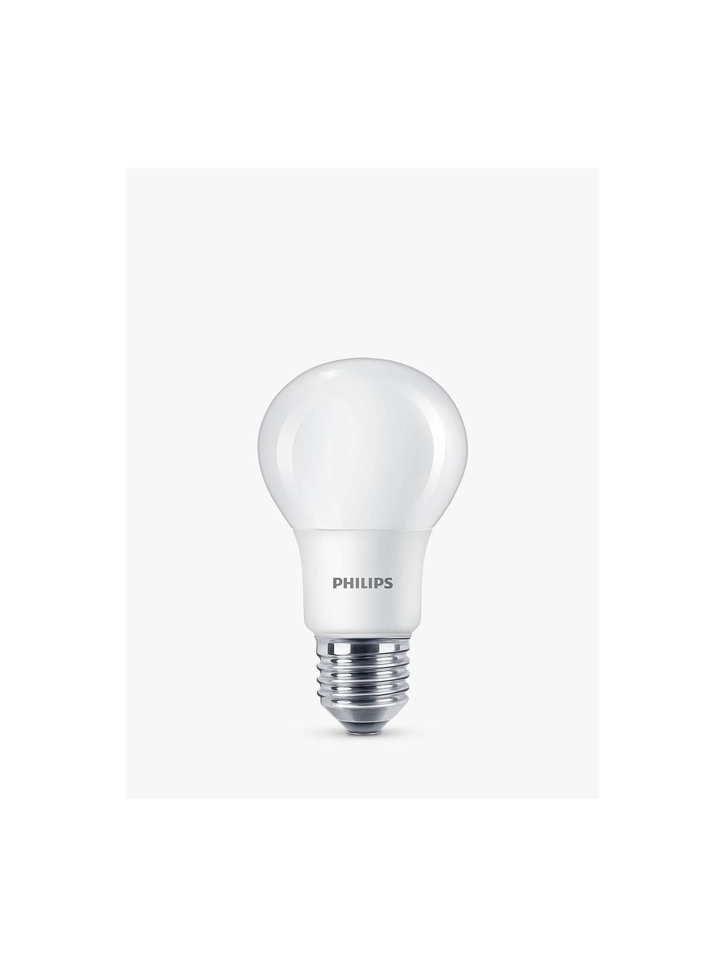 Daylight Led Bulbs: Philips 7.5W ES LED Classic Cool Daylight Light Bulb