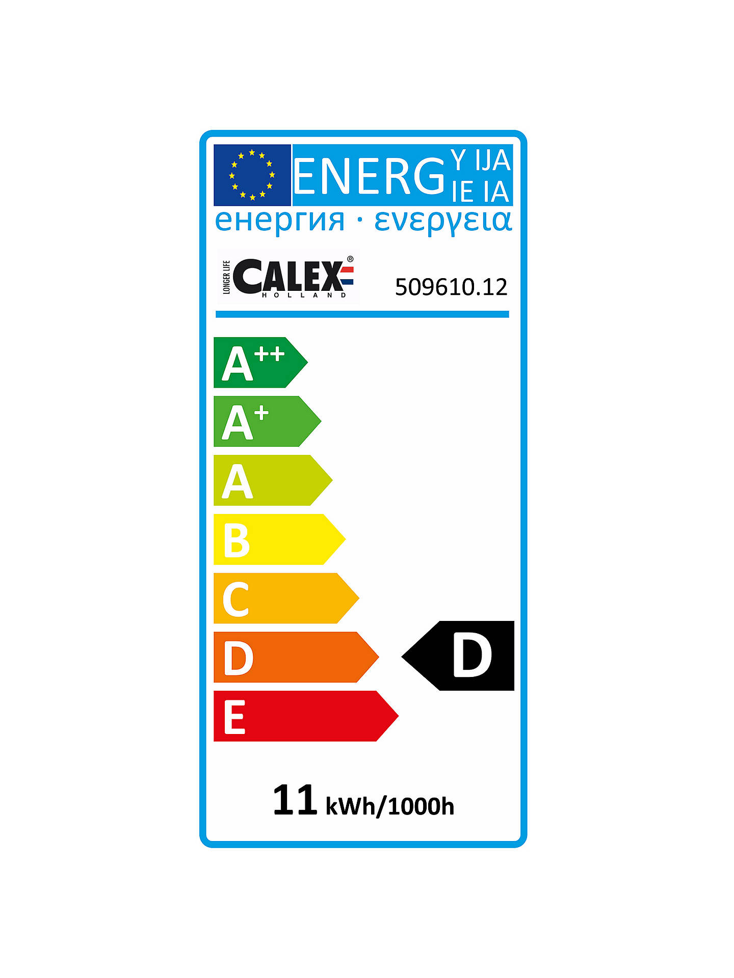 Buy Calex 10W G4 Eco Bulb, Pack of 12, Clear Online at johnlewis.com