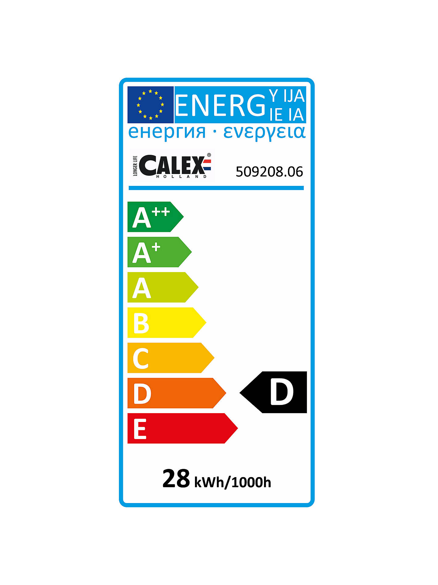 BuyCalex 28W G9 Eco Halogen Capsule Bulb, Pack of 6, Clear Online at johnlewis.com
