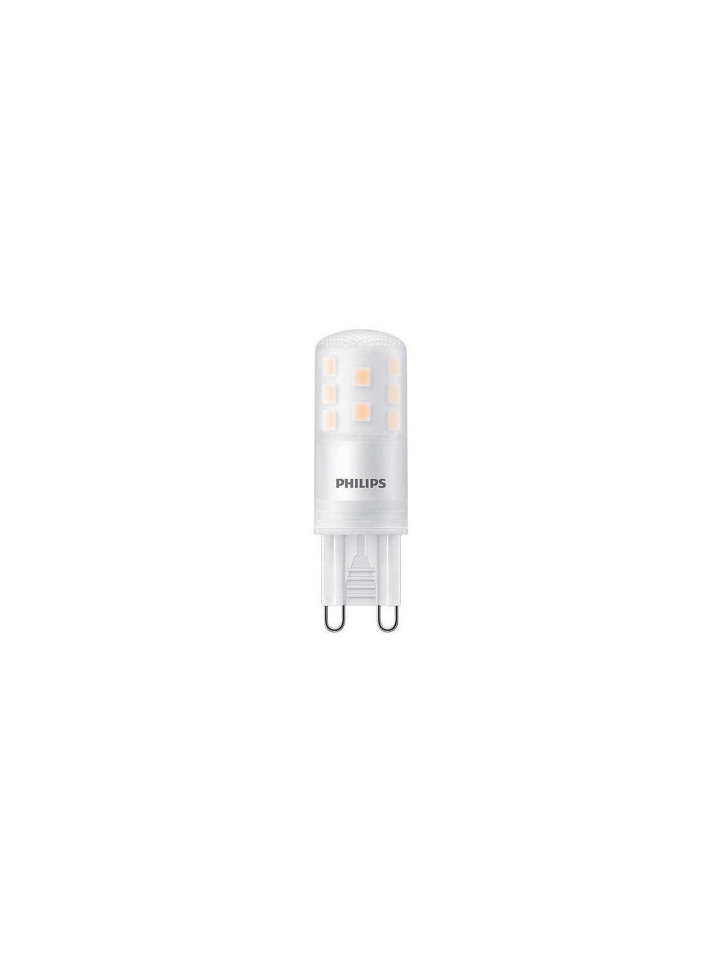 philips 2 5w g9 led dimmable capsule bulb clear at john. Black Bedroom Furniture Sets. Home Design Ideas