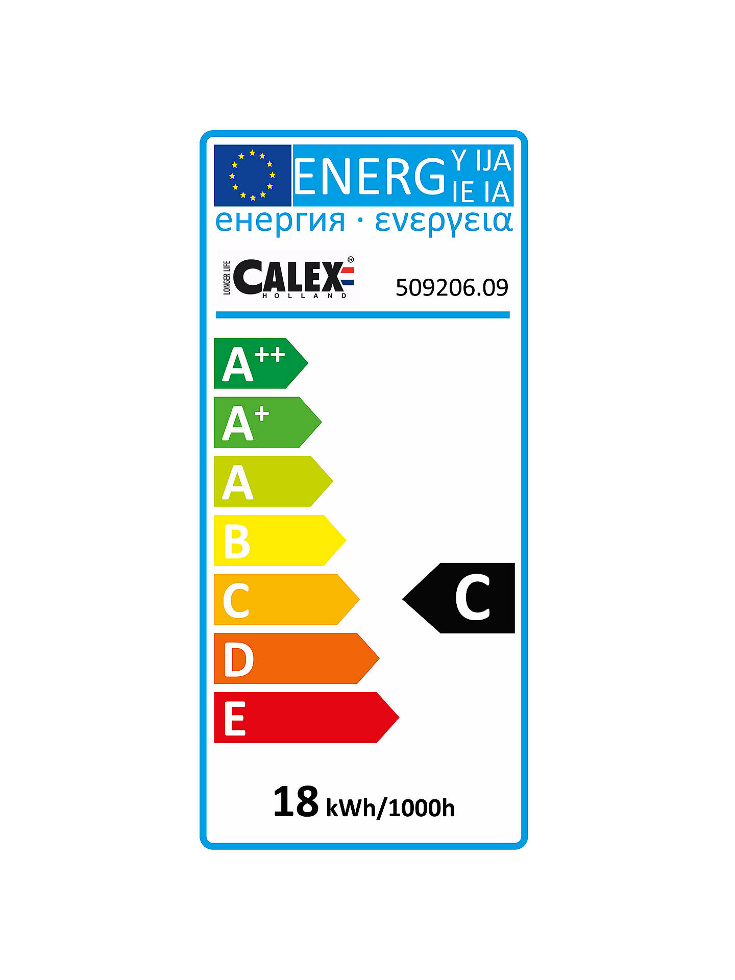 Buy Calex 18W G9 Eco Halogen Capsule Bulb, Pack of 9, Clear Online at johnlewis.com