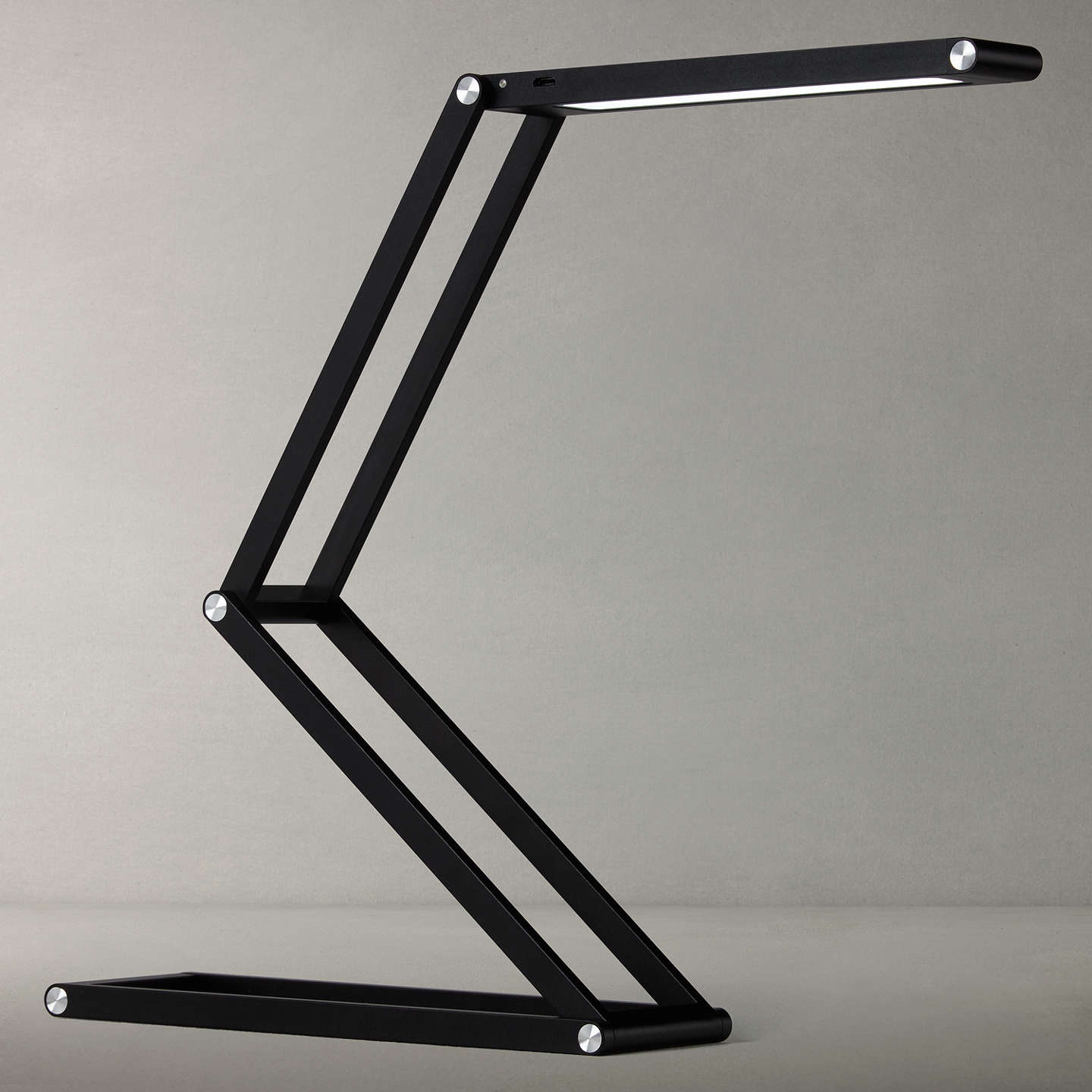 BuyJohn Lewis Xavier LED Desk Lamp, Black Online At Johnlewis.com ...