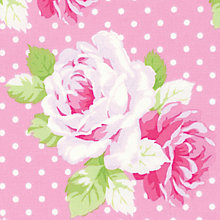 Buy Freespirit Tanya Whelan Dottie Rose Print Fabric Online at johnlewis.com
