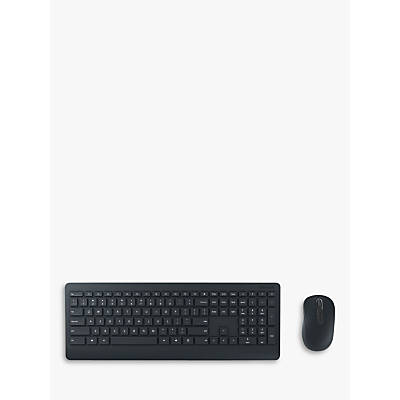Image of Microsoft 900 Wireless Desktop Keyboard and Mouse, Black