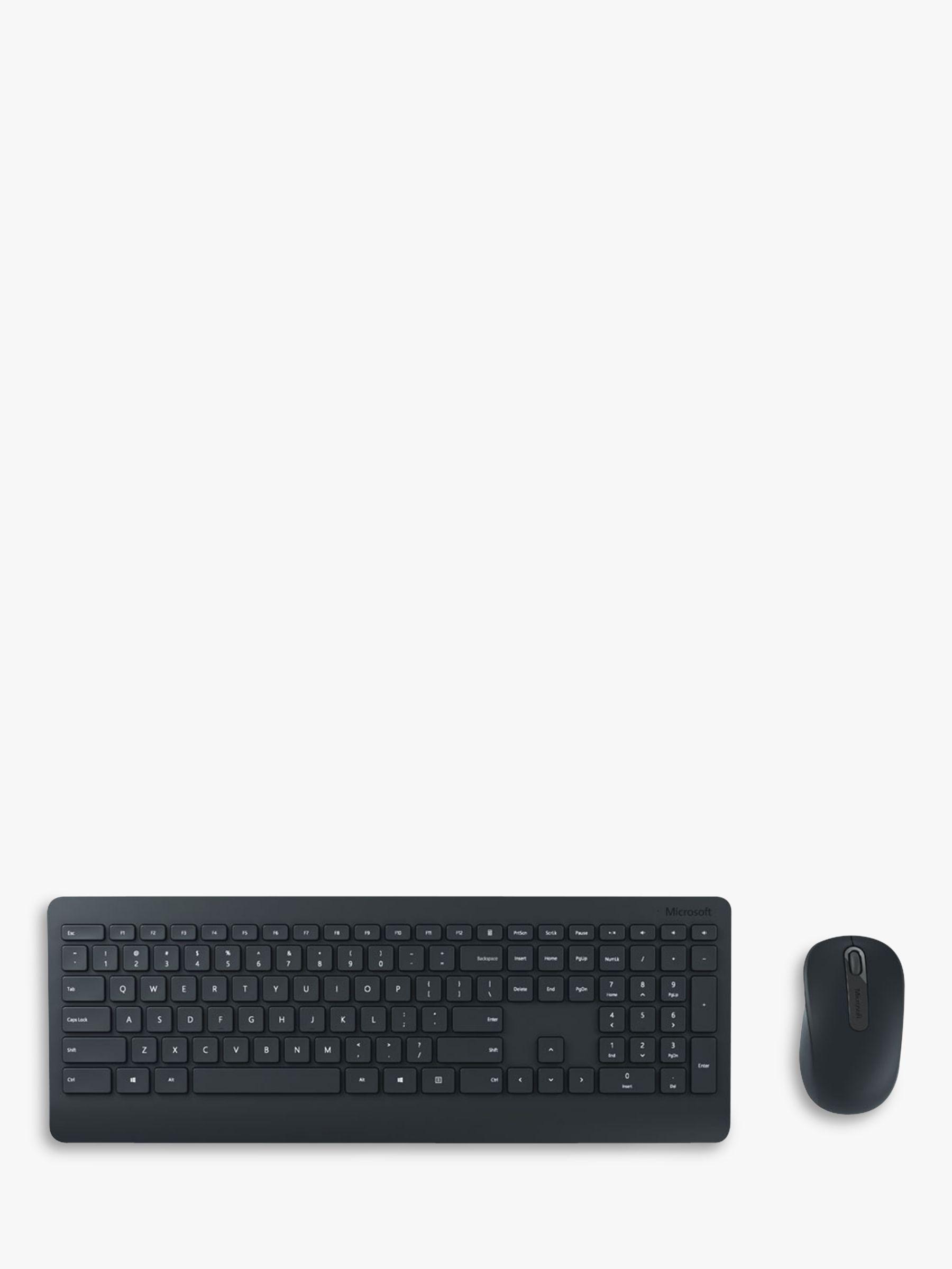 Microsoft Microsoft 900 Wireless Desktop Keyboard and Mouse, Black