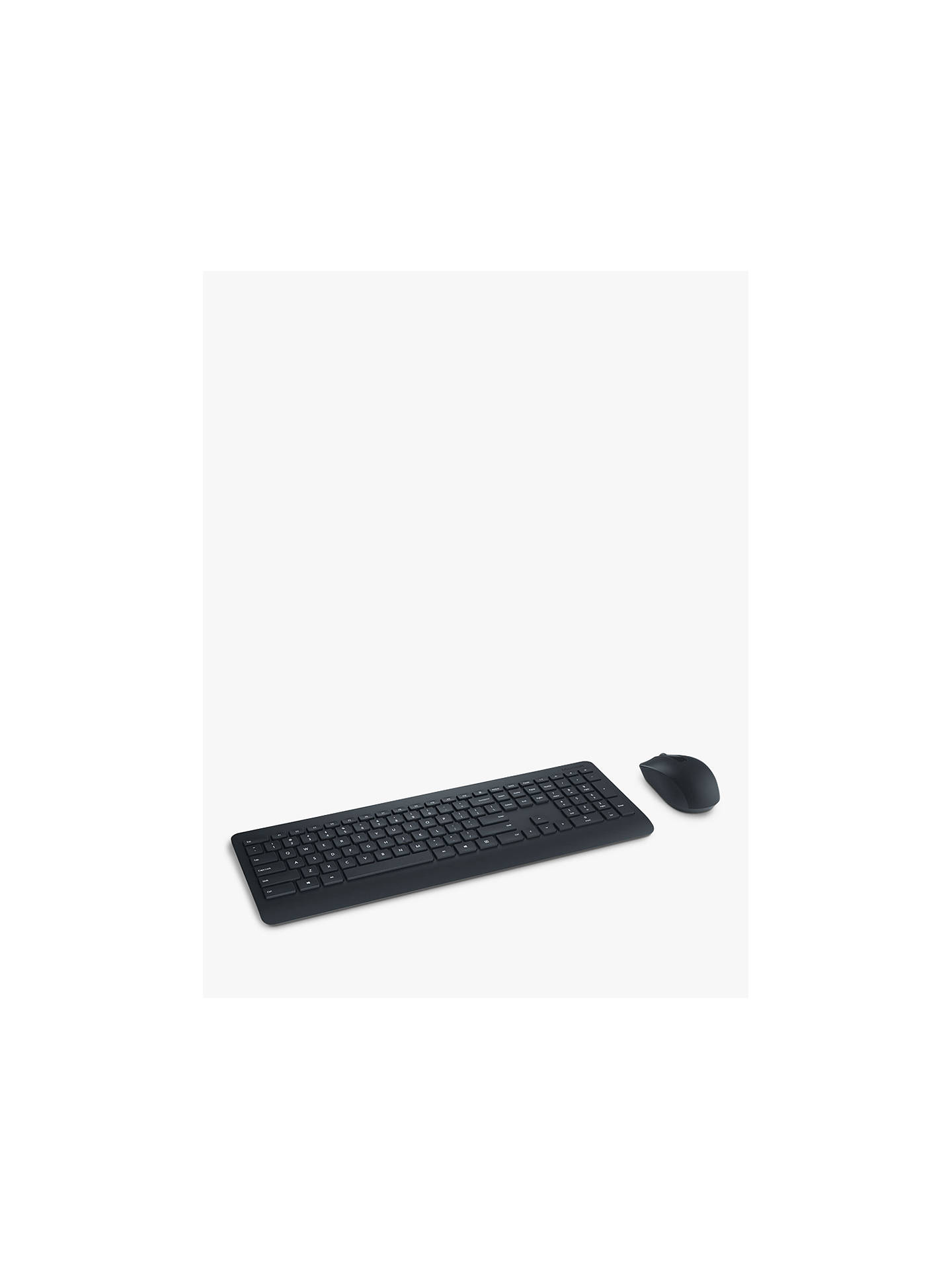 BuyMicrosoft 900 Wireless Desktop Keyboard and Mouse, Black Online at johnlewis.com