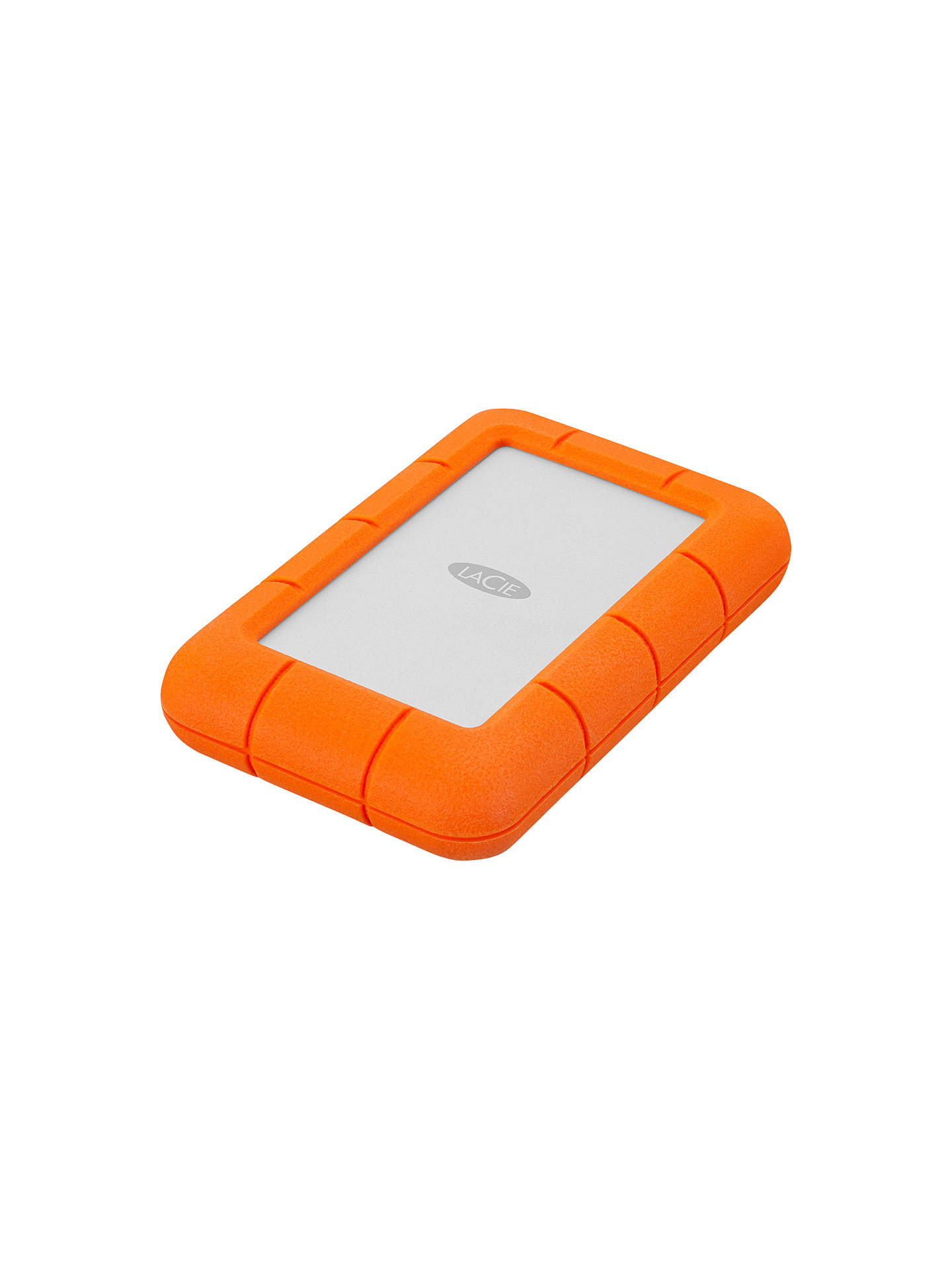 Buy LaCie Rugged Mini Drive, 2TB, Orange Online at johnlewis.com