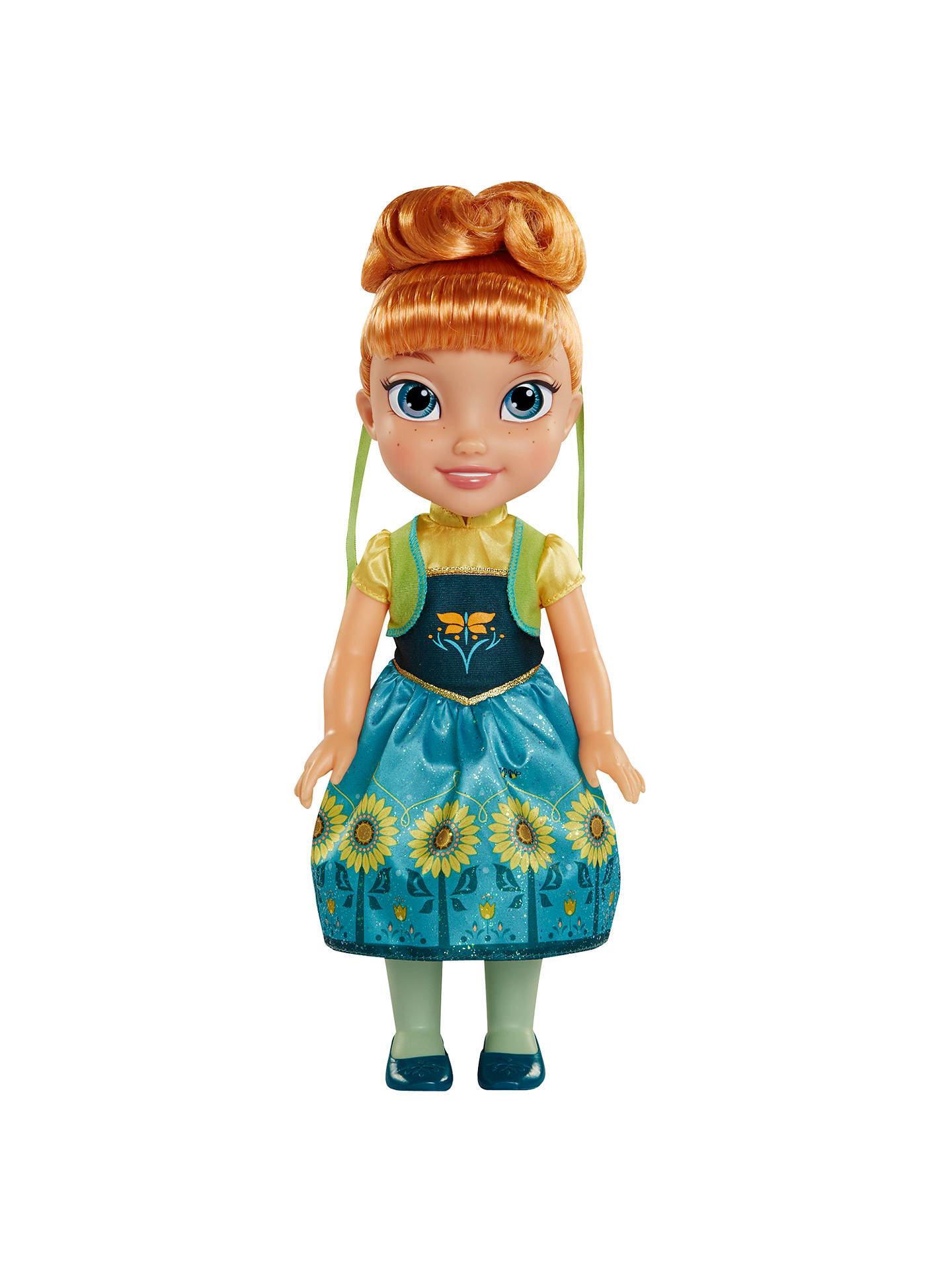 Disney Princess Frozen Anna Toddler Doll At John Lewis