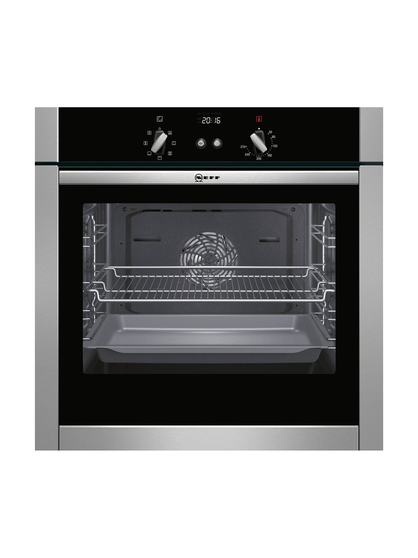 Neff B44m42n5gb Slide And Hide Built In Single Oven