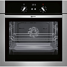Buy Neff B14M42N5GB Built-In Single Oven, Stainless Steel Online at johnlewis.com