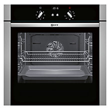 Buy Neff B44S52N5GB Slide and Hide Single Oven, Stainless Steel Online at johnlewis.com