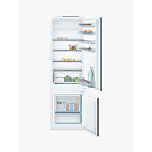 Buy Bosch KIV87VS30G Built-In Fridge Freezer, A++ Energy Rating, 54.1cm Wide Online at johnlewis.com